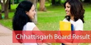Chhattisgarh Board CGBSE Result