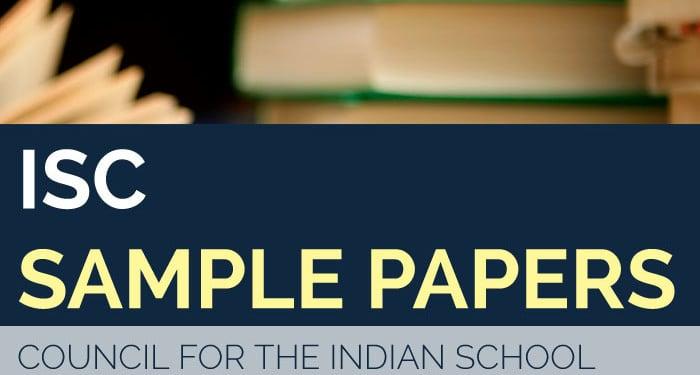 ISC Class 12 Sample Paper 2020 – Psychology Specimen Question Paper