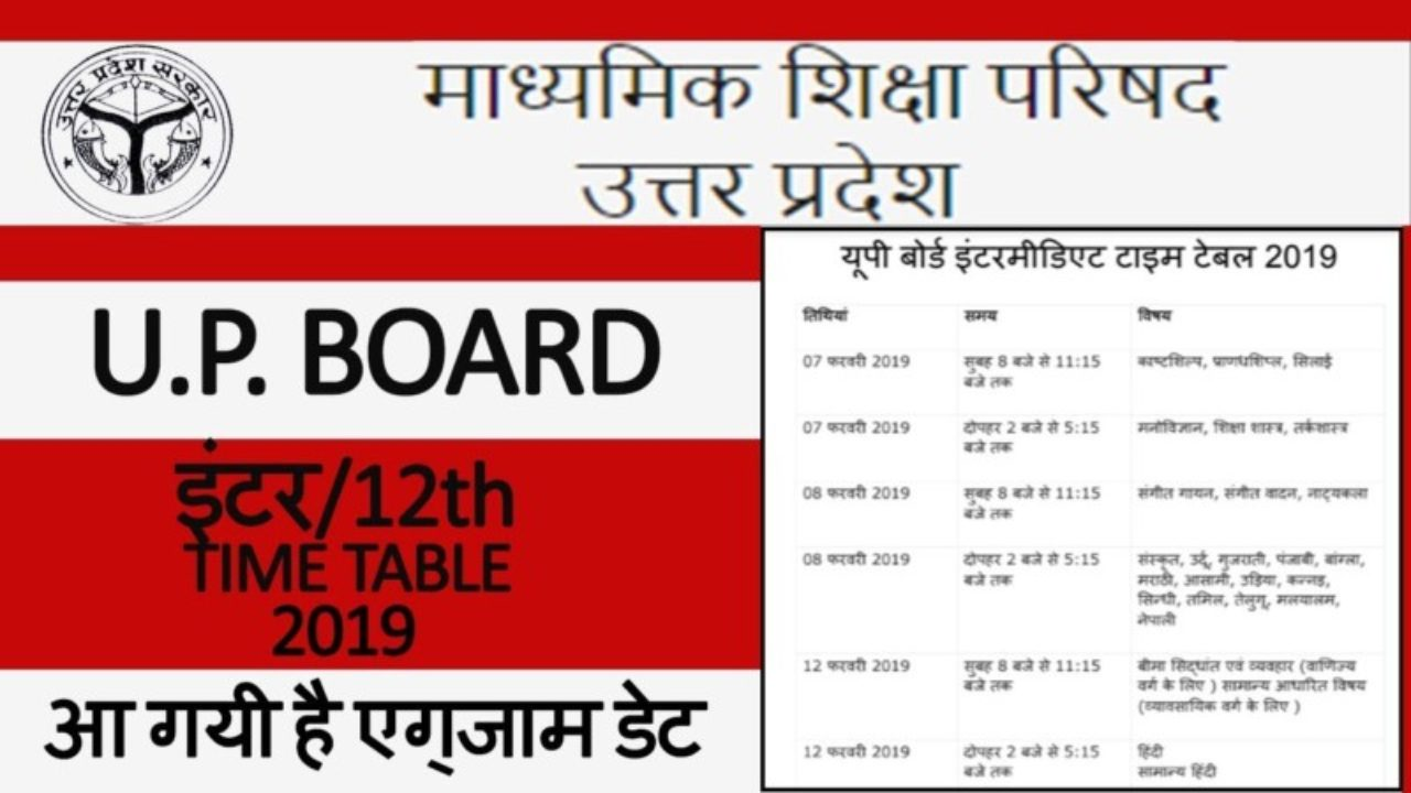 Up Board Date Sheet 2015 Class 12 Pdf